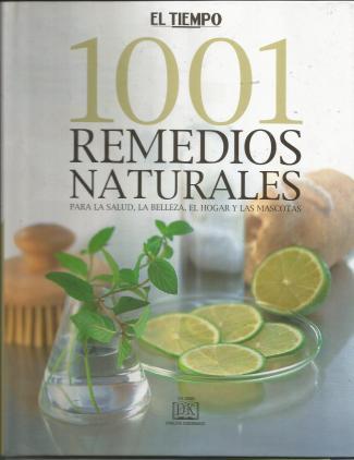 libro 1001 Remedios Naturales coleccion por fasciculos de El Tiempo