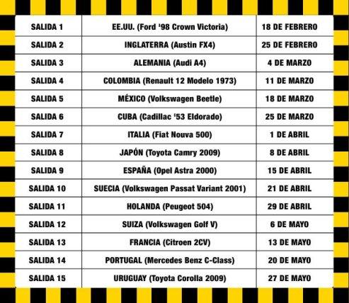 Taxis del Mundo Guia de coleccion