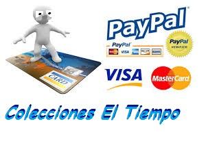 formas de pagos online Colecioneseltiempo