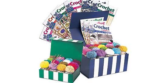Crochet con mucho color