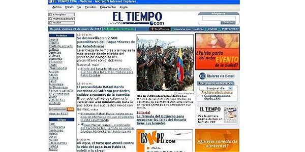 HISTORIA DE EL TIEMPO INTERNET 6