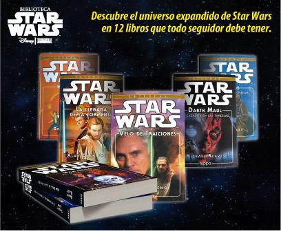 Star Wars en estos 12 libros