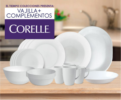 VAJILLA CORELLE 4