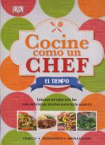 vendo libro cocine como un chef